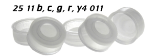 2511b4011 2511c4011 2511g4011 2511r4011 2511y4011 Schnappkappe Snap Top Caps Snap on cap snap seal push on Kappe 11mm reines PTFE virgin 0.25mm 12x32mm ND11 N11 CE GC HPLC 117 MULTI