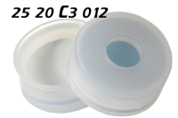 2520c3012 Schnappkappe-für-Spülflasche Snap Top Caps Snap on cap snap seal push on Kappe 20mm SIL-PTFE 20x38mm 20.5x38mm 22x38mm 22x75mm 22.5x46mm 22.5x75mm 23x75mm 30x58mm ND20 N20 CE GC HPLC 75 MU