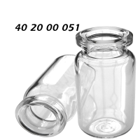 402000051 Boerdelflasche Rollrandflasche 20mm HS headspace crimp vial Klarglas clear 6ml 22x38mm PerkinElmer F42 F45 HS40 HS100 HS101 HS110 HS6 HS16 ND20 N20 CE GC HPLC 72
