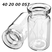 402000057 Boerdelflasche Rollrandflasche DIN 20mm HS headspace crimp vial Klarglas clear 5ml 20.5x38mm Spark ND20 N20 CE GC HPLC 72