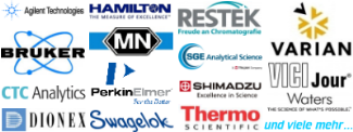 Analytik Zubehoer Analytische Agilent Technologies Bruker CTC Analytics Dionex Hamilton Machery Nagel PerkinElmer Restek SGE Analytical Science Shimadzu Swagelok Thermo Scientific Varain Vici Jour Waters