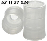 621127024 Adapter Kunststoff Plastic support Mikrovial konisch Boerdelflasche Rollrandflasche crimp vial 0.9ml 10x32mm N11 ND11 WS-6 CE GC HPLC 66